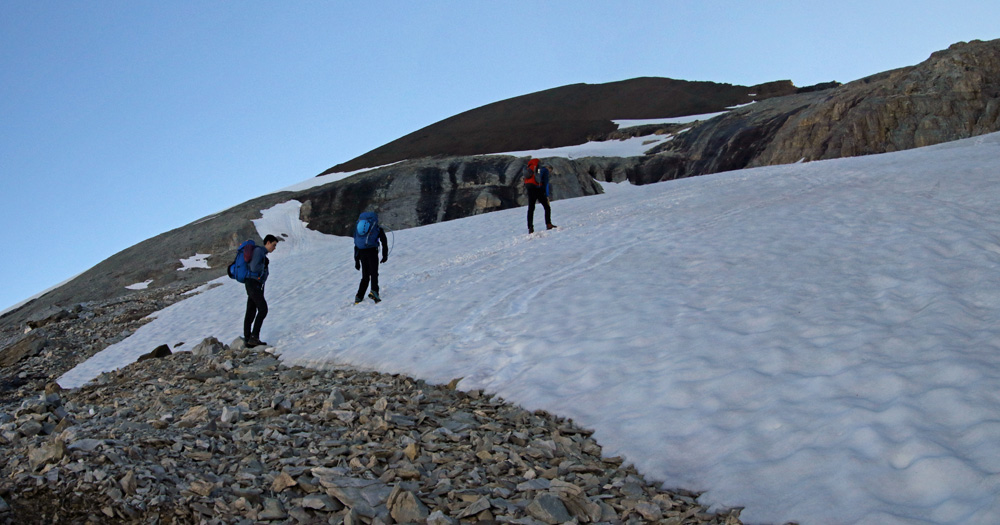 Photo of the Üssers Barrhorn hike on the Turtmanntal side in Valais/Wallis, Switzerland