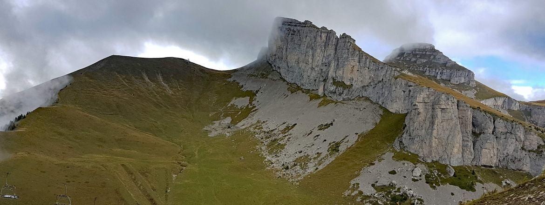 Photo of the Tour d'Aï and Tour de Mayen, Leysin, Switzerland