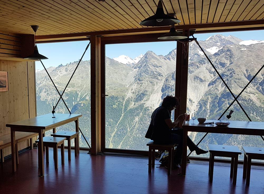 Photo of Topalihütte on the Barrhorn hike from St Niklaus, Wallis, Switzerland