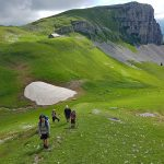 Photo of people hiking on the Schrattenfluh, Luzern, Switerland