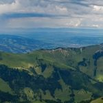 Photo of people climbing the Dent de Brenleire, Fribourg, hiking in Switzerland