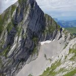 Photo of the Dent de Folliéran from the Dent de Brenleire, Fribourg, hiking in Switzerland