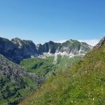 Photo of the Vanil Noir from the Dent de Brenleire, Fribourg, hiking in Switzerland
