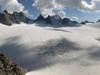 Photo of the Plateau du Trient and Aiguilles du Tour from the Cabane du Trient, Switzerland