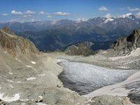 Photo of the Orny glacier above Champex-Lac, Valais, Switzerland