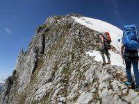 Photo of hikers near the Gummfluh summit | Swiss mountain | Hiking in Switzerland