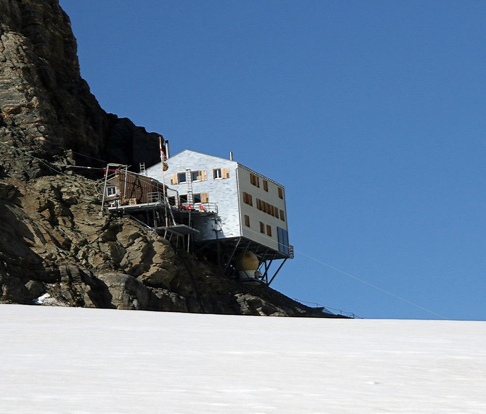 Photo of Mönchsjochhütte mountain hut | Hiking in Switzerland