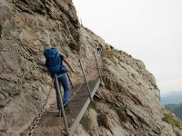 Photo of people on the Grosser Mythen hike trail, Schwyz   Hiking in Switzerland